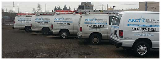 Arctic Commercial Refrideration's Fleet