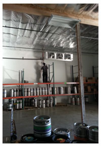 Refrigeration Installation at  Point Blank Distributing Warehouse